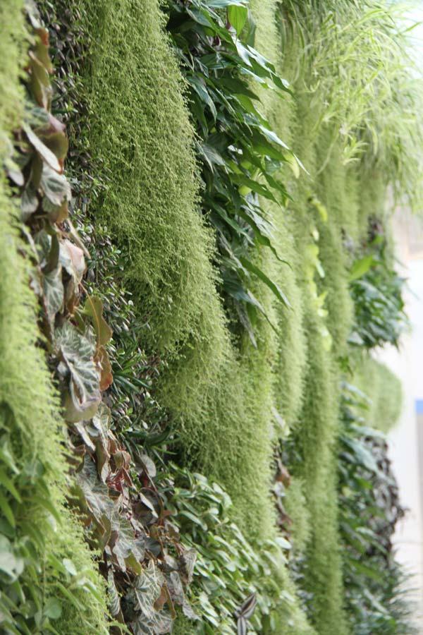 Utendørs 9 Pocket Innendørs Vertikal Hage Balkong Urte Vegg Hengende Planter Bag