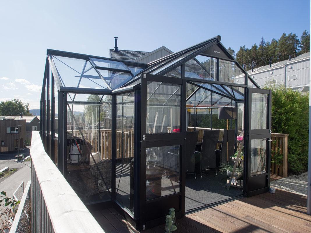 Ypperlig Drivhus som hagestue, her dyrkes trivsel! - Moseplassen SS-09